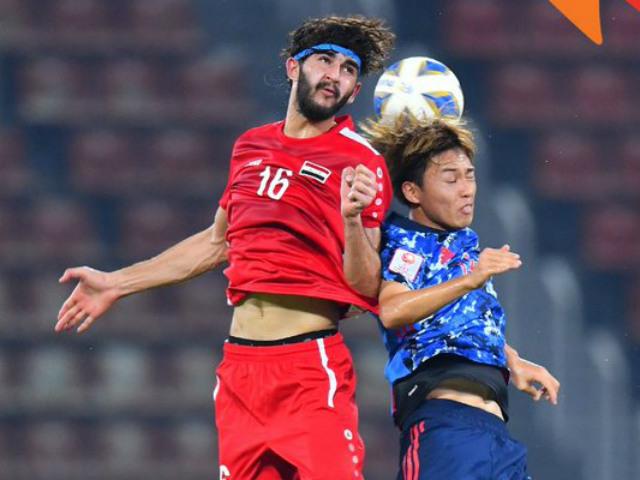 """Video highlight trận U23 Syria - U23 Nhật Bản: Chết lặng vì VAR, """"thảm họa"""" phút 88"""