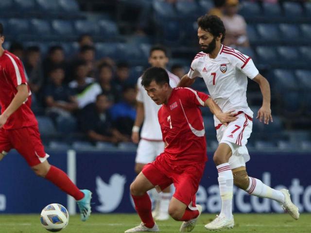 Trực tiếp bóng đá U23 UAE - U23 Triều Tiên: Nhân đôi cách biệt