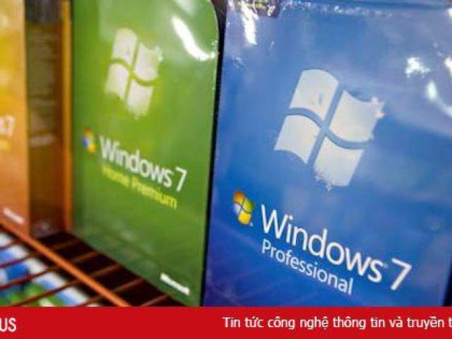 Hôm nay, Microsoft chính thức ngừng hỗ trợ Windows 7
