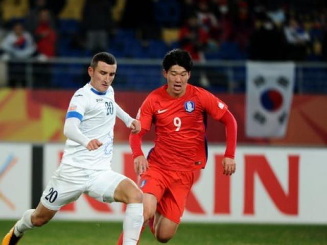 Trực tiếp bóng đá U23 Uzbekistan - U23 Hàn Quốc: Thở phào nhẹ nhõm (Hết giờ)