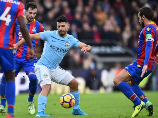 """Nhận định bóng đá Man City - Crystal Palace: Aguero săn cột mốc khủng, thắng """"hủy diệt"""""""