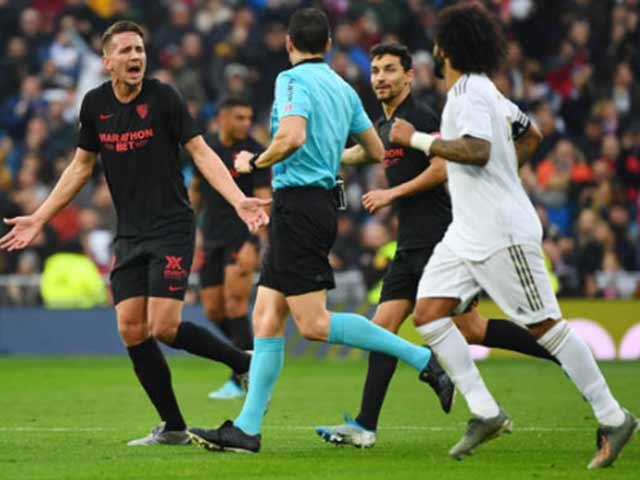 Trực tiếp bóng đá Real Madrid - Sevilla: Hú vía cơ hội phút 89 (Hết giờ)