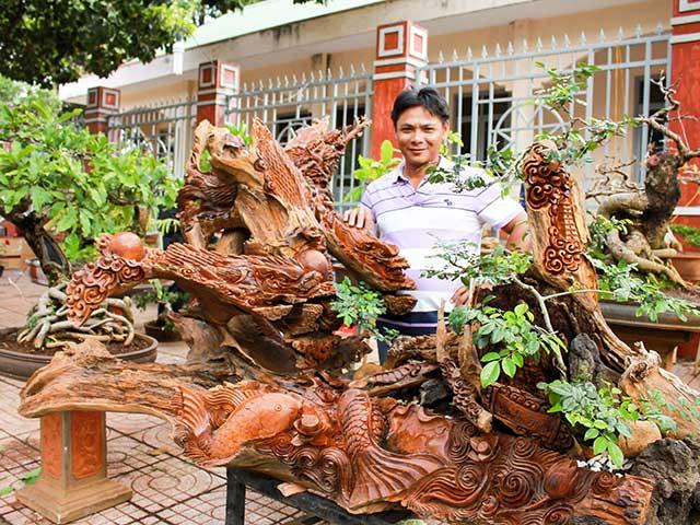 """Chiêm ngưỡng """"rồng"""", """"cá chép"""" trổ lộc hô giá trăm triệu ở Đắk Lắk"""