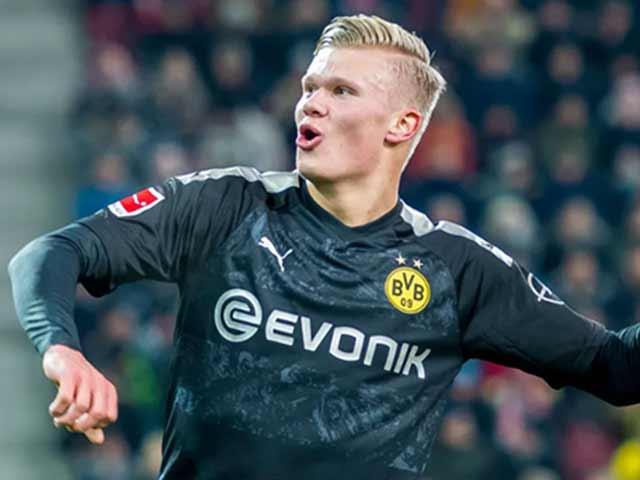 Video highlight trận Augsburg - Dortmund: Haaland ra mắt ghi hat-trick, ngược dòng thần sầu