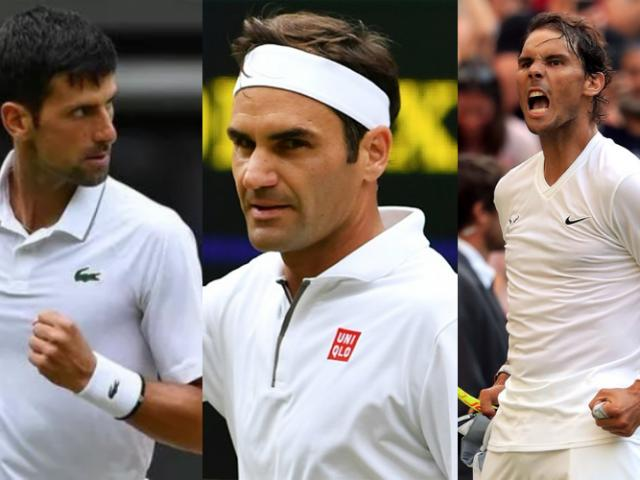 """Bảng xếp hạng tennis 20/1: Federer khiến Nadal, Djokovic toát """"mồ hôi"""""""