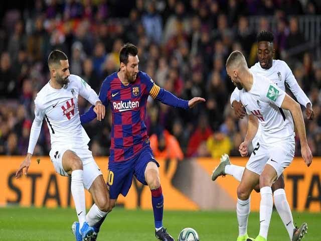 """Video highlight trận Barcelona - Granada: Người hùng Messi, tân """"thuyền trưởng"""" ghi điểm"""