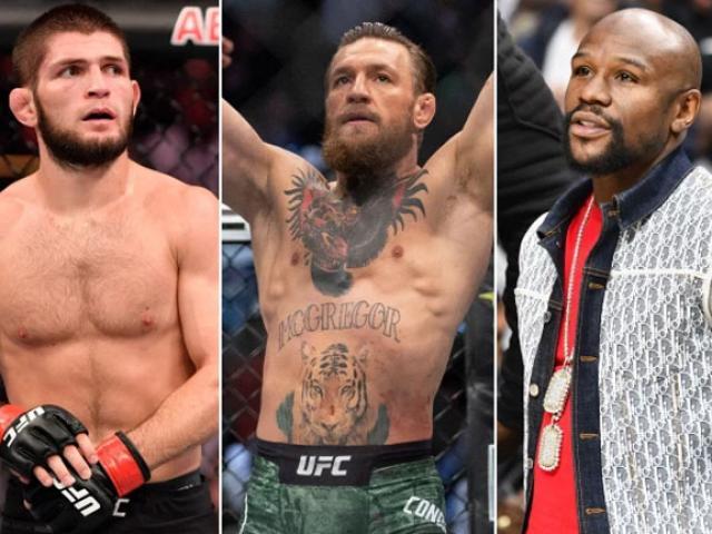 """""""Gã điên UFC"""" McGregor tái xuất tuyệt đỉnh: Đòi """"xử"""" Khabib lẫn Mayweather"""