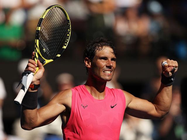 Video, kết quả tennis Nadal - Carreno Busta: Tốc hành 3 set, sức mạnh tuyệt đối (V3 Australian Open)
