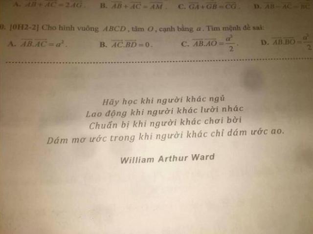 Giao bài tập Tết, thầy giáo để lại câu này khiến học trò đang ngủ cũng bật dậy làm tức khắc