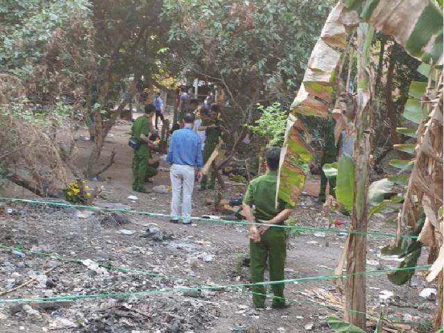 Ảnh: Cận cảnh hiện trường vụ nổ súng khiến 4 người tử vong ở TP.HCM