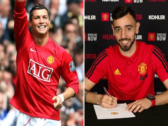 "Bruno Fernandes viết tiếp ""lịch sử Ronaldo"" tại MU: Chờ áo số 7 huyền thoại"