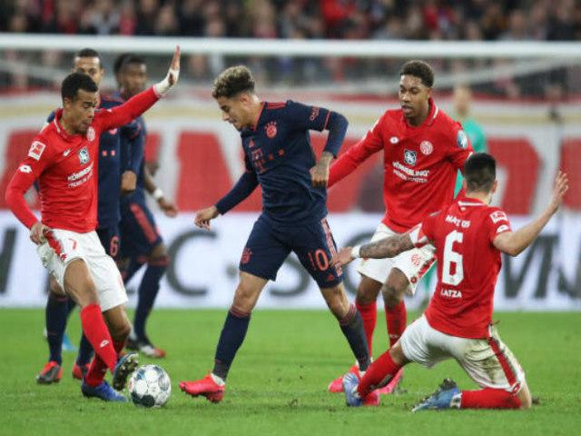 """Video highlight trận Mainz - Bayern Munich: Lewandowski """"mở hàng"""", 3 bàn trong 26 phút"""