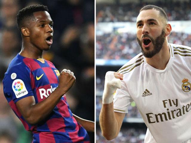 Điểm nóng vòng 22 La Liga: Real xứng danh Vua Madrid, SAO Barca cú đúp gây sốt