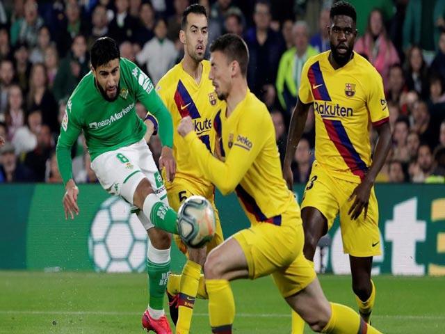 Trực tiếp bóng đá Real Betis - Barcelona: Phút cuối kịch tính (Hết giờ)
