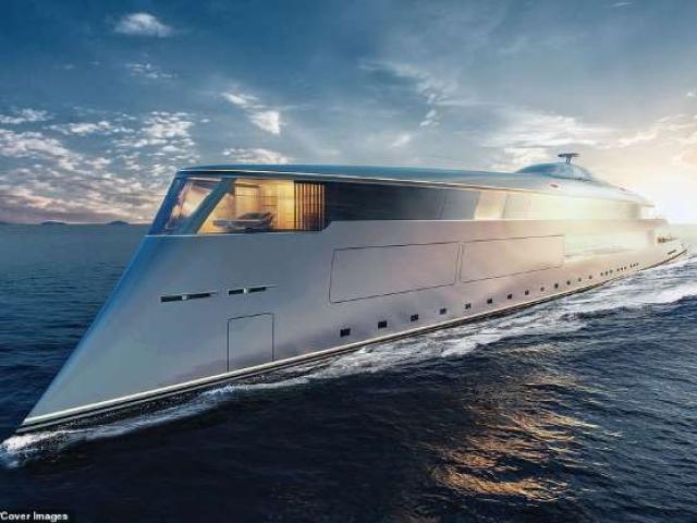 Ảnh: Chiêm ngưỡng siêu du thuyền 645 triệu USD, chạy bằng hydro lỏng của tỷ phú Bill Gates