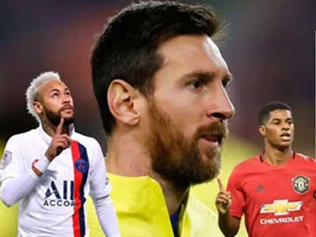 """Messi sát cánh Neymar, Rashford: Đội hình ghi bàn """"khủng"""" nhất châu Âu vắng Ronaldo"""