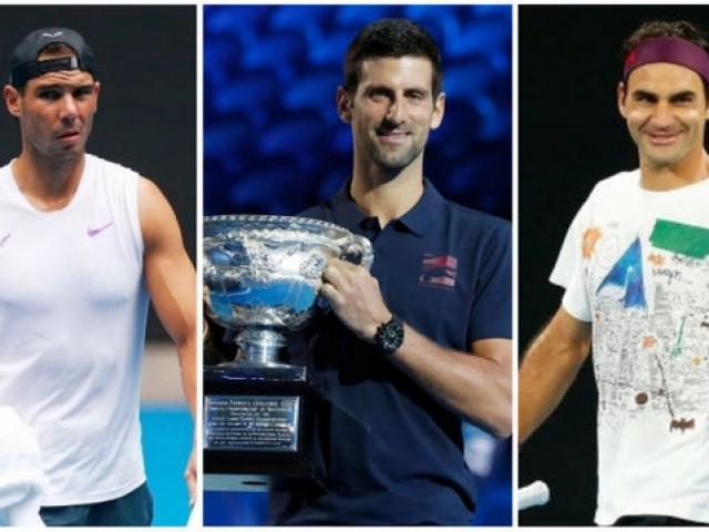 """Federer, Nadal, Djokovic """"thách thức thời gian"""": Đàn em khó lật đổ vì sao?"""