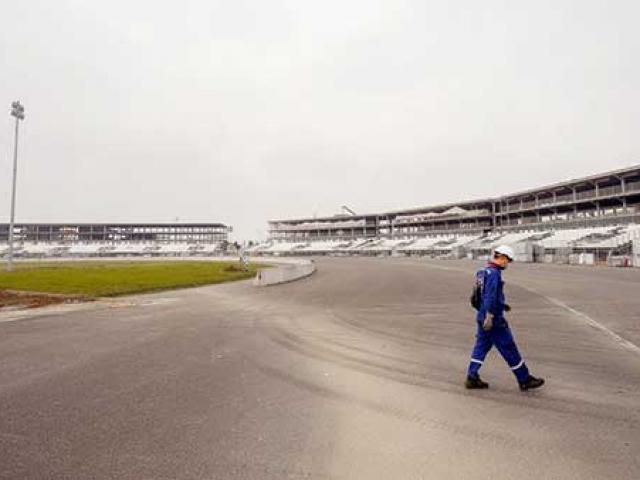 """Cận cảnh đường đua F1 - đường đua """"thử thách bậc nhất thế giới"""" tại Hà Nội"""