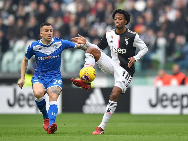 Video highlight trận Juventus - Brescia: Bước ngoặt thẻ đỏ, 2 bàn đẳng cấp