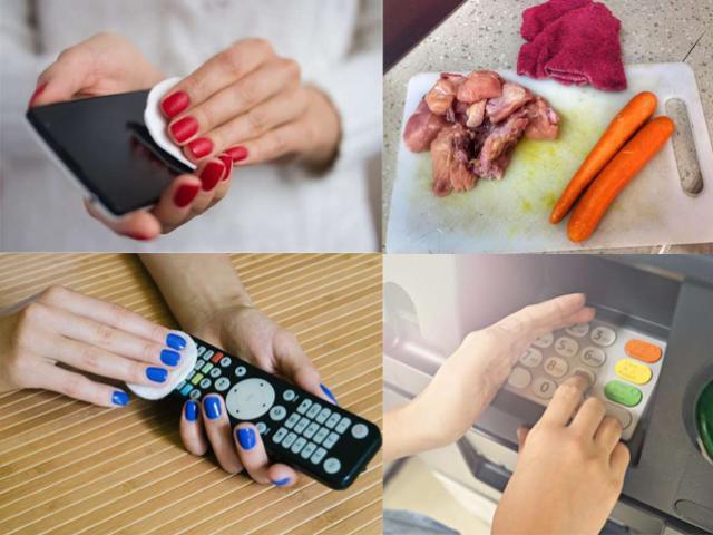 """20 thứ bạn chạm tay hằng ngày lại là """"ổ"""" vi khuẩn, virus nguy hiểm"""