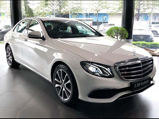 Mercedes-Benz E200 Exclusive giá 2,29 tỷ đồng vừa ra mắt tại Việt Nam