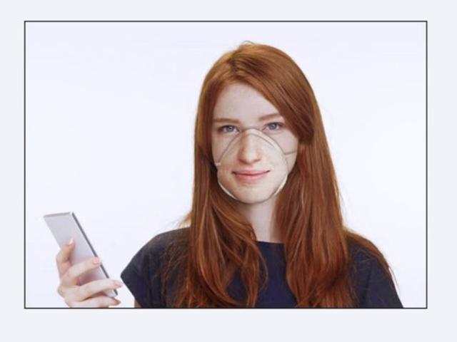 Khẩu trang chống virus Corona, hỗ trợ truy cập Face ID