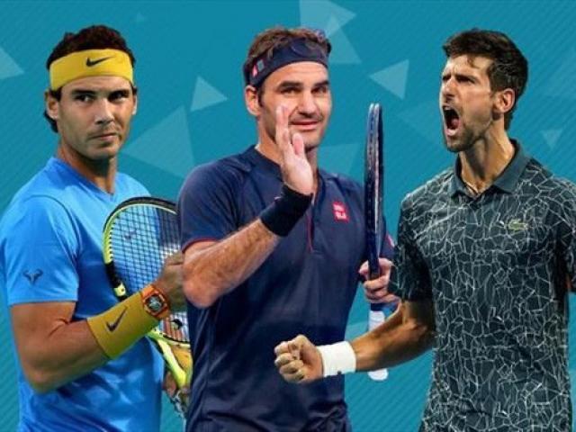 """Lộ bí mật Djokovic - Nadal - Federer đánh Grand Slam """"mãi"""" không thua"""