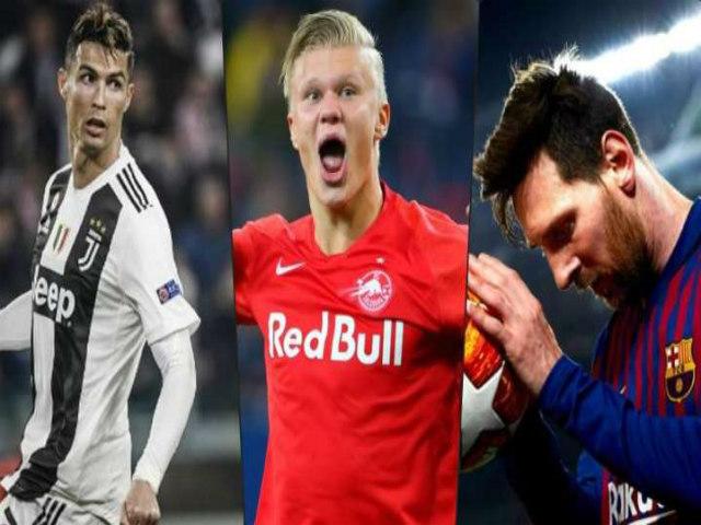 Haaland 19 tuổi khuynh đảo châu Âu: Tăng giá phi mã, sẽ vượt Messi – Ronaldo?