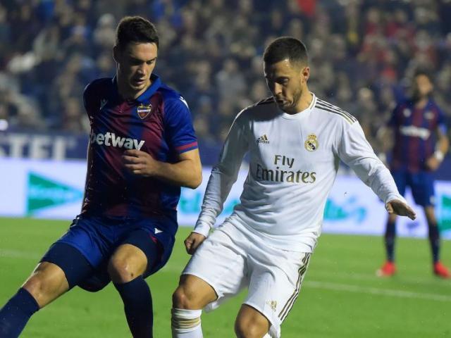 Video highlight trận Levante - Real Madrid: Vô-lê thần sầu, cú sốc khó ngờ
