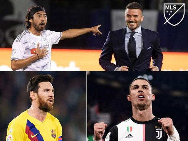 CLB của Beckham chơi lớn: Dụ Ronaldo - Messi tới Mỹ đá cùng Lee Nguyễn