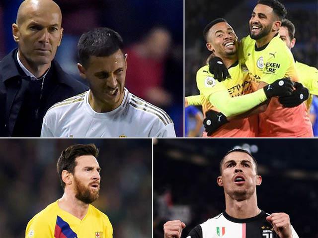 Lượt đi vòng 1/8 cúp C1: Nảy lửa Real - Man City, Ronaldo đua tài Messi