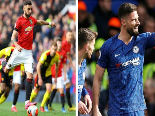 Đua Top 4 Ngoại hạng Anh nghẹt thở: MU thắng thế, Arsenal bứt phá thần tốc