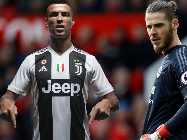 """MU tính bán De Gea: """"Người nhện"""" sang PSG hay đến Juventus phò tá Ronaldo?"""
