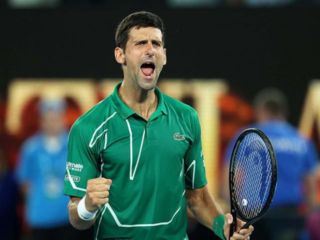 Video tennis Djokovic - Monfils: Đối thủ khó chịu