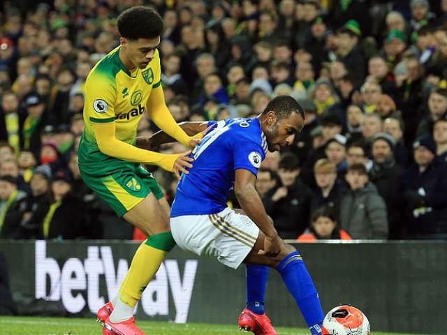 Video highlight trận Norwich - Leicester City: Ôm hận vì VAR, đòn đau phút 70