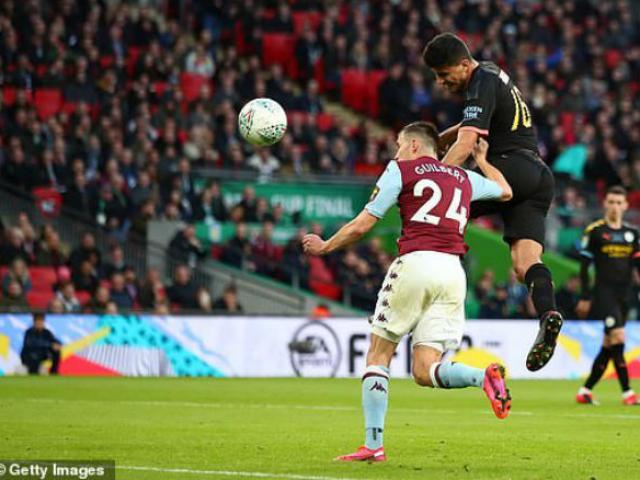 Video highlight trận Aston Villa - Man City: Tấn công rực lửa, hú vía đăng quang (Chung kết cúp Liên đoàn Anh)