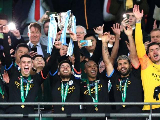 Man City vô địch League Cup: 3 năm liên tiếp, Pep áp sát kỷ lục Sir Alex