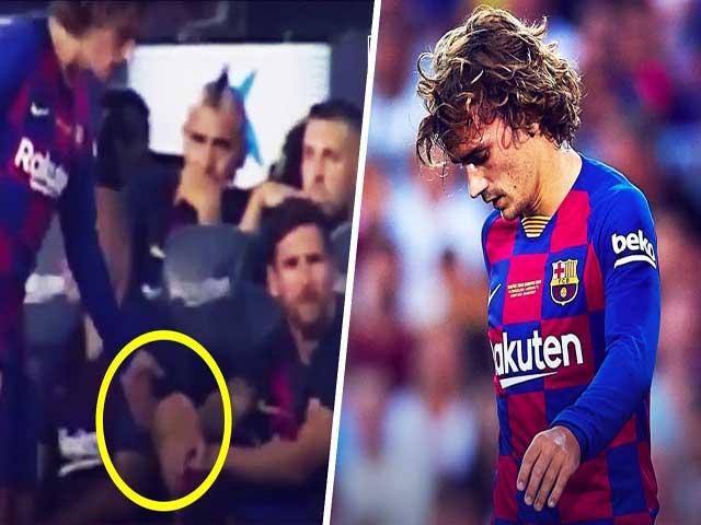 """Barcelona thua Real: Griezmann bị trợ lý HLV """"mắng"""" té tát thế nào?"""