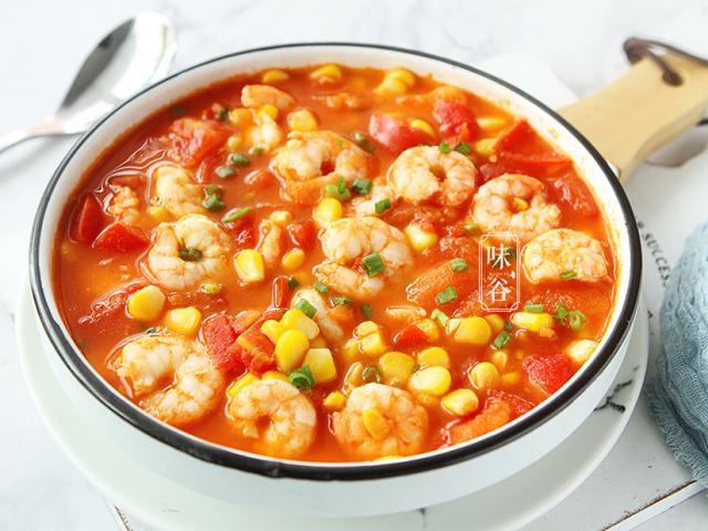 Nấu cà chua với tôm quá bình thường, thêm ngay nguyên liệu này vị ngon tăng lên gấp bội