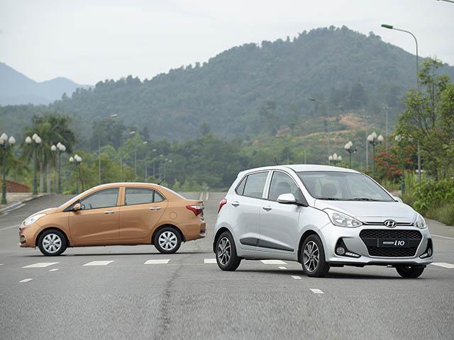 Giá lăn bánh Hyundai Grand i10 2020 sedan và Hatchback