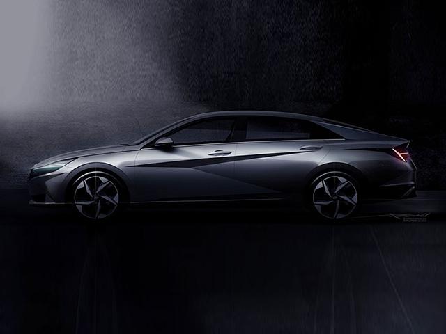 Hyundai Elantra 2021 lột xác về thiết kế, ra mắt toàn cầu ngày 17/3