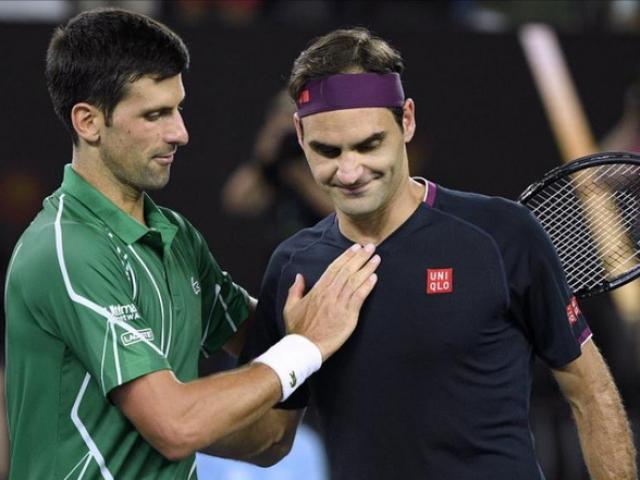 """Djokovic vượt Federer thành """"Vua đọ súng"""": Bí quyết từ chính """"Tàu tốc hành"""""""