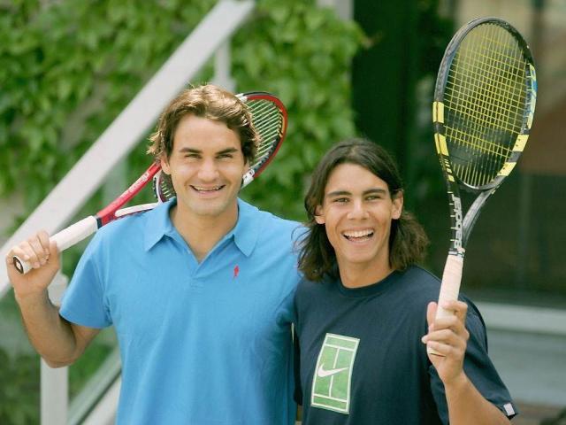 """Thâm cung bí sử tennis: Nadal """"làm thầy"""" Federer khi 17 tuổi"""