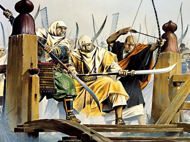 Bí mật phía sau các tu sĩ chiến binh cổ đại ở xứ Phù Tang