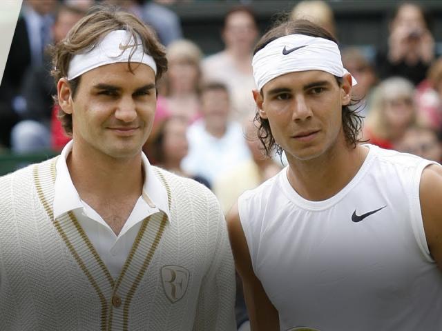 """Video tennis kinh điển Federer đấu Nadal: """"Nhà vua"""" giao bóng vượt trội Wimbledon 2007"""