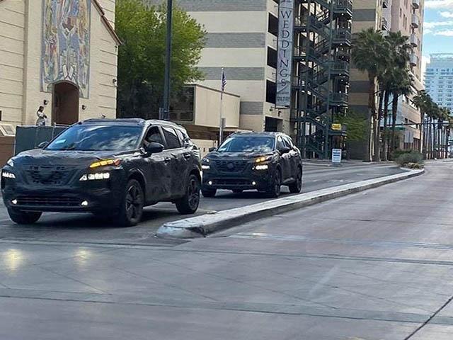 Nissan X-Trail thế hệ mới xuất hiện trên phố Las Vegas, nhiều thay đổi đáng chú ý