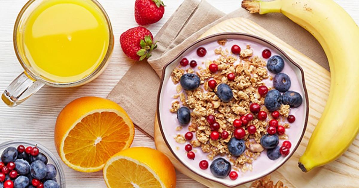 Bữa sáng vừa giảm cân vừa kiểm soát lượng đường trong máu