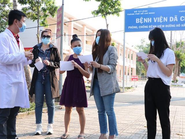 4 người nhiễm Covid-19 tại TP.HCM đã khỏi bệnh