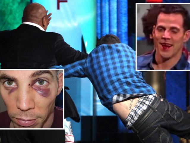 """Diễn viên hài dại dột xin """"bị"""" Mike Tyson đấm: Mặt mũi biến dạng"""