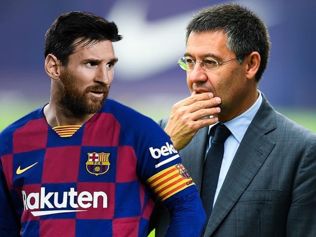 """""""Ông trùm"""" Messi giảm 70% lương, Chủ tịch Barca phản ứng thế nào?"""